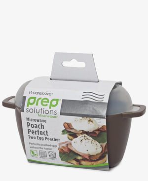 Progressive Double Egg Poacher - Brown