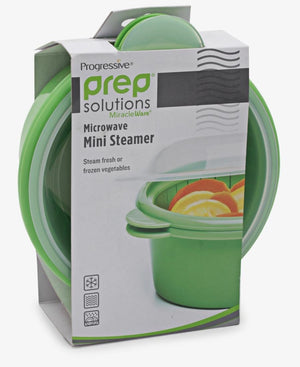 Progressive Mini Microwave Steamer - Green