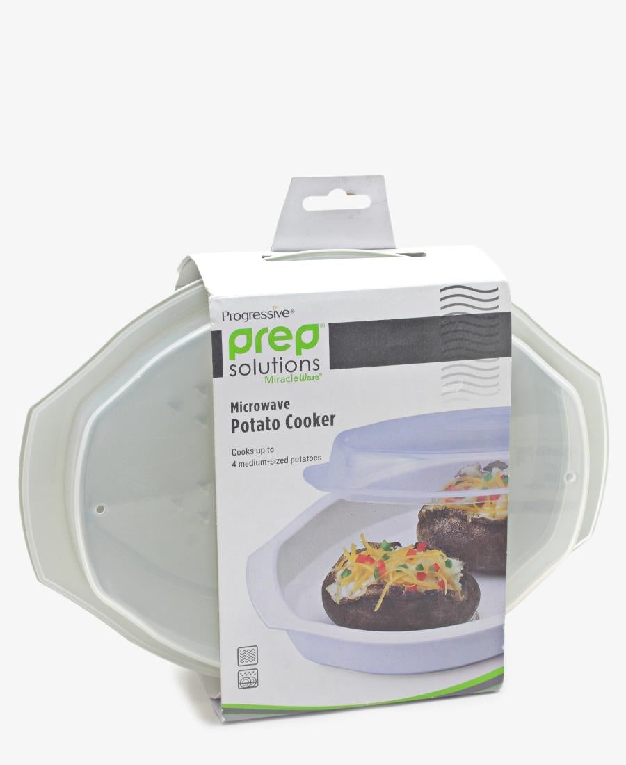Microwave Potato Cooker - Cream