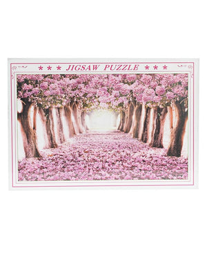 1000 Piece Jigsaw Puzzle - Pink