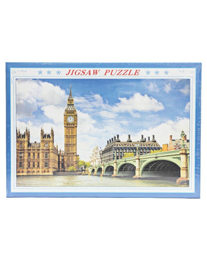 1000 Piece Jigsaw Puzzle - Blue
