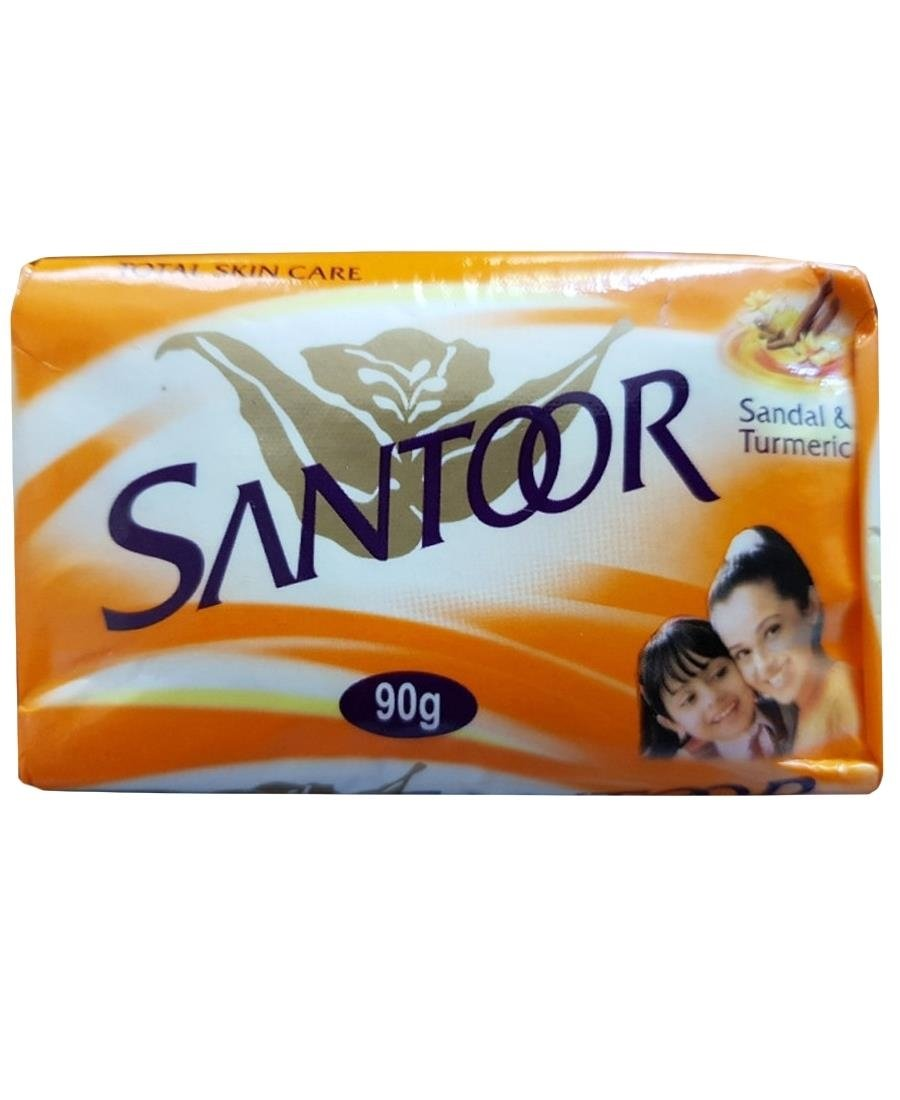 Santoor Soap 90g - Orange