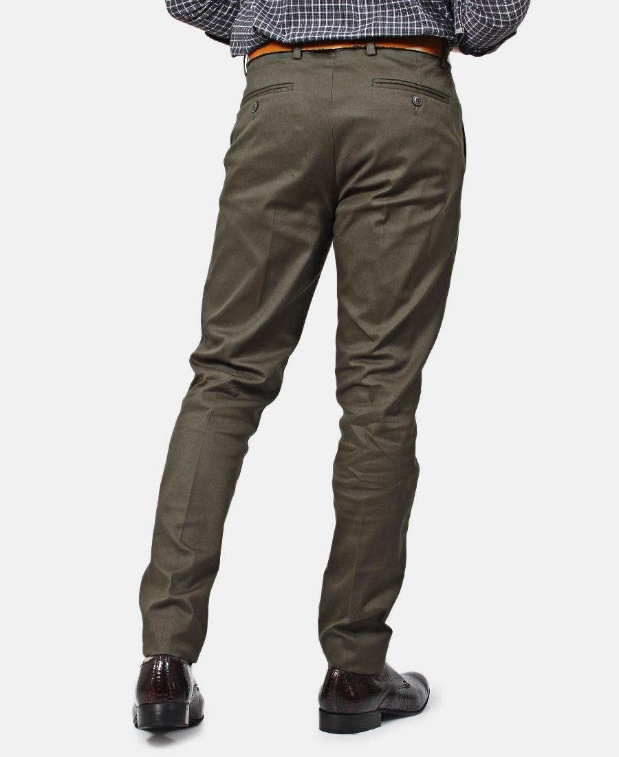 Men's Chino Pants - Olive