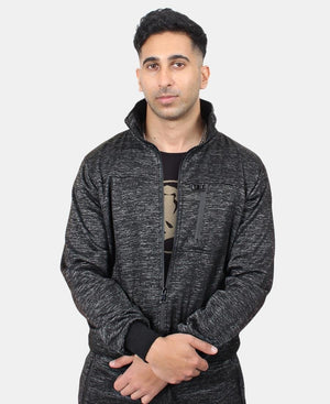 Men's Track Jacket - Black