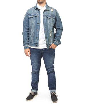 Denim Jacket - Navy