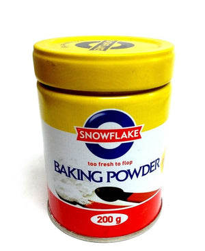 Snowflake Baking Powder 200g - White