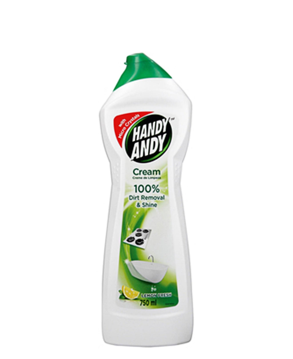 Handy Andy Lemon 750ml - Green