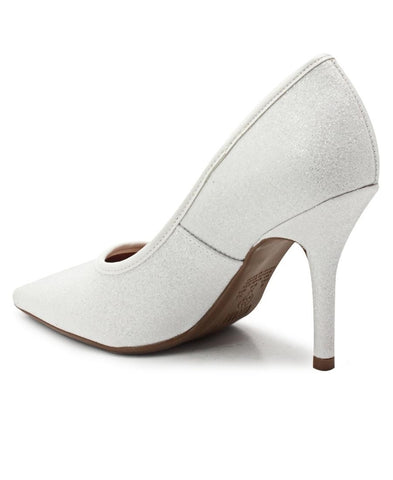 Court Shoe - White