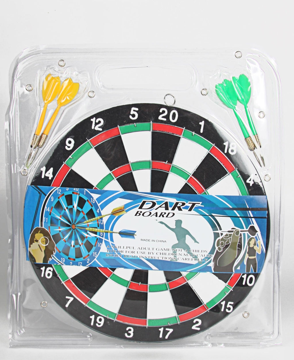 29Cm Dart Board Adult Game  - Red