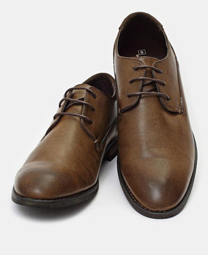 Lace Up Shoes - Choc