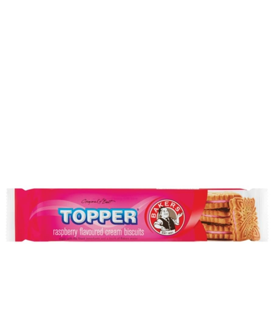 Bakers Topper Rasberry 125g - Red