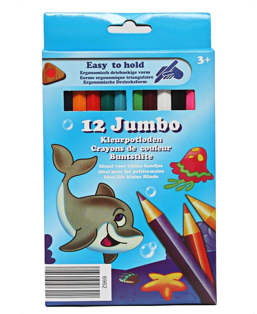 12 Pack Colouring Pencils - Multi