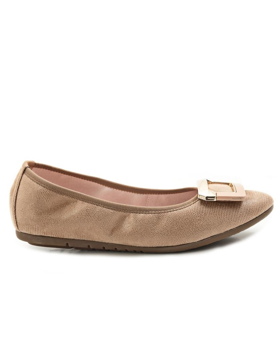 Leather Pumps - Tan