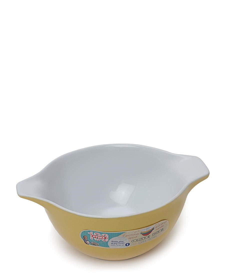 Spouted Mixing Bowl - Yellow