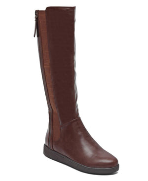 Knee High Boots  - Brown