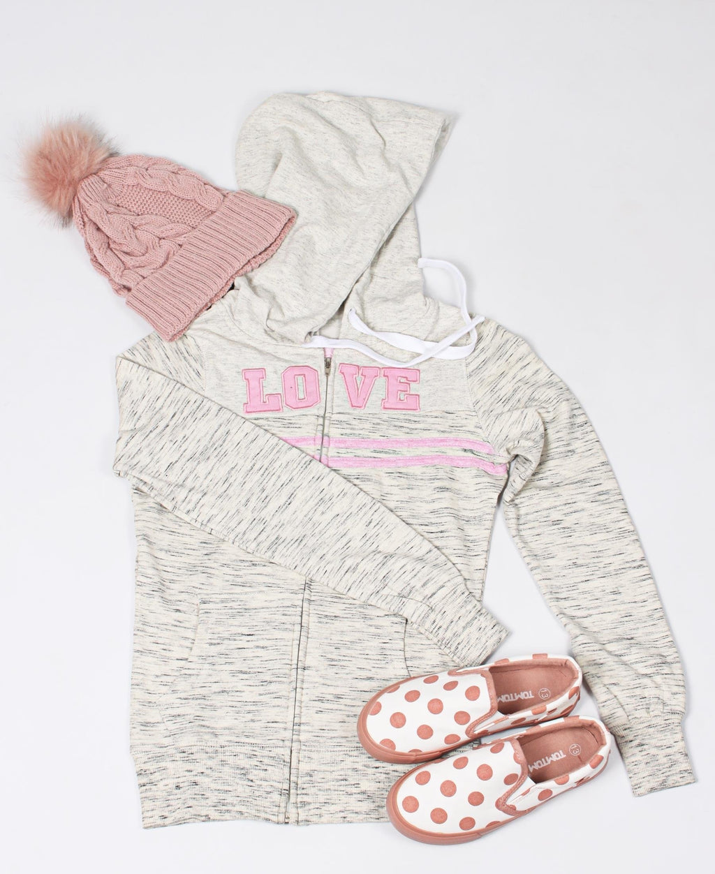 Girls Hoody - Grey