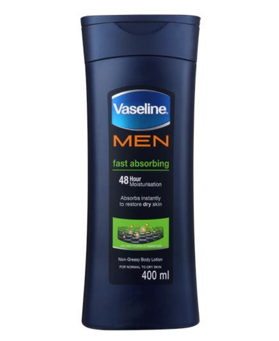 Vaseline Mens Lotion 400ml - Blue