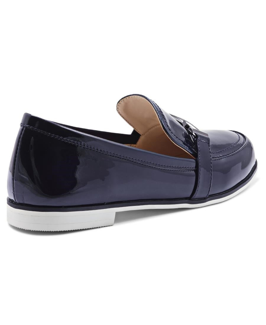 Moccasin - Navy