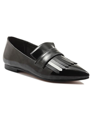 Tassel Slip On - Black