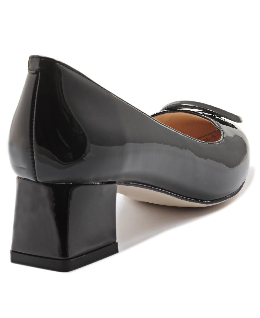 Block Heel - Black