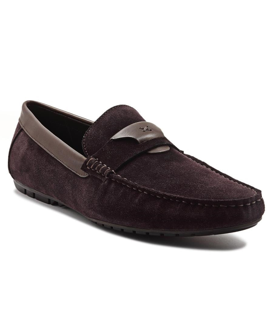 Genuine Leather Loafer - Brown