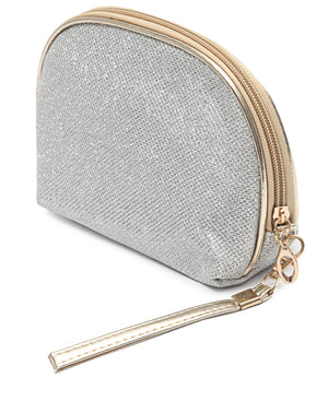 Cosmetic Bag - Silver