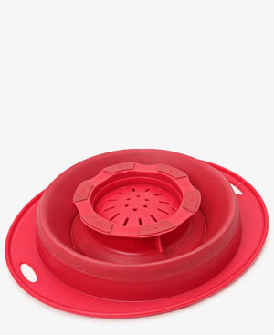 1.4Lt Colander Twist & Rinse - Red