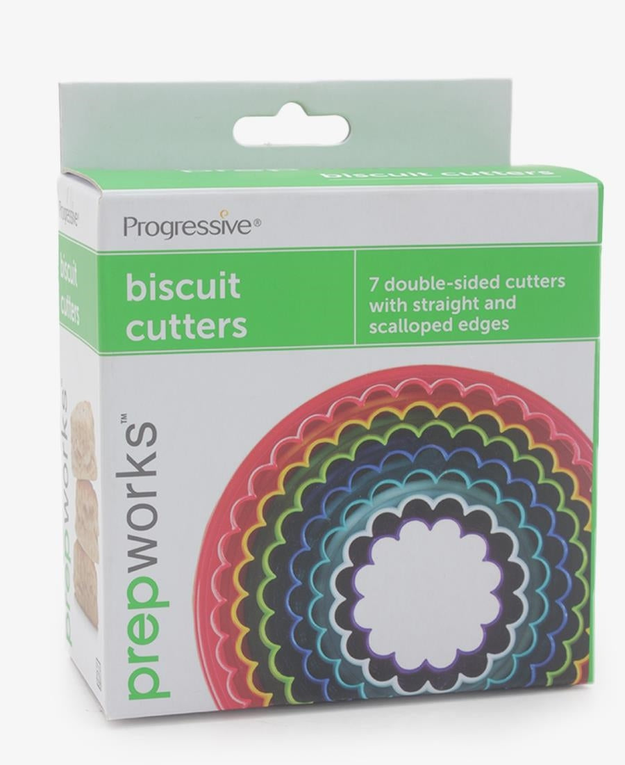Progressive 7 Piece Biscuit Cutter - Multi