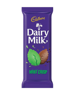 Cadbury Slab Mint Crisp 80g - Green