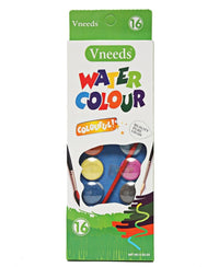 16 Colours Water Paint - Multi