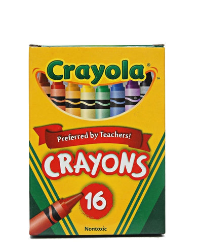 16 Pack Crayons - Multi