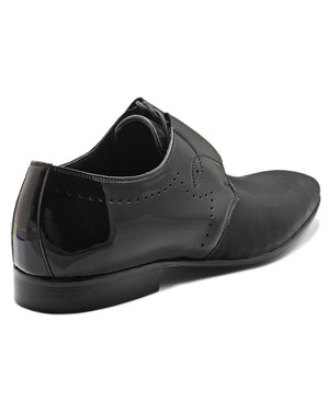 Genuine Leather Slip On - Black