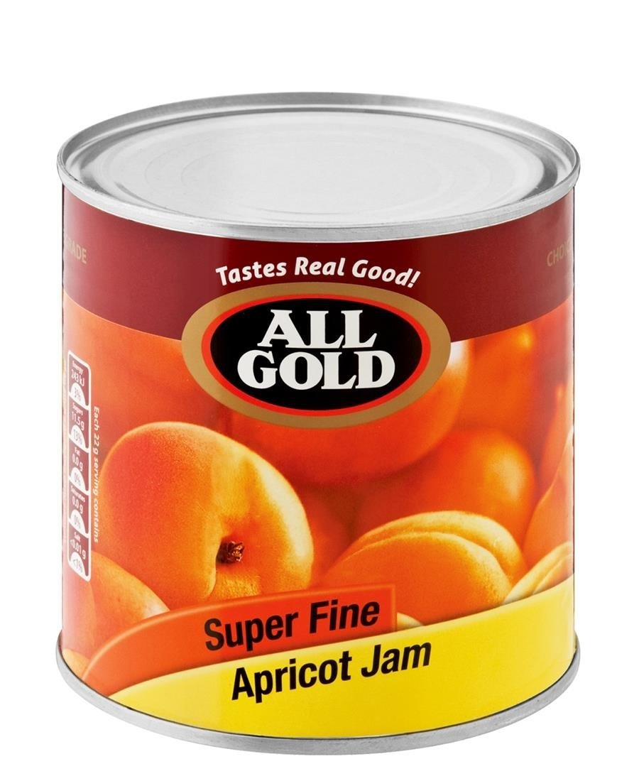 All Gold Apricot Jam 900g - Red