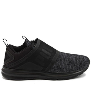 Enzo Strap Knit - Black