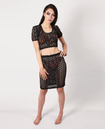 Laser Cut Top - Black