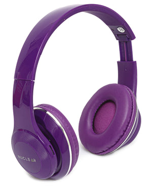 Bluetooth Wireless Headphones - Purple