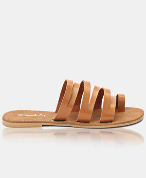 Ladies' Sandals - Tan