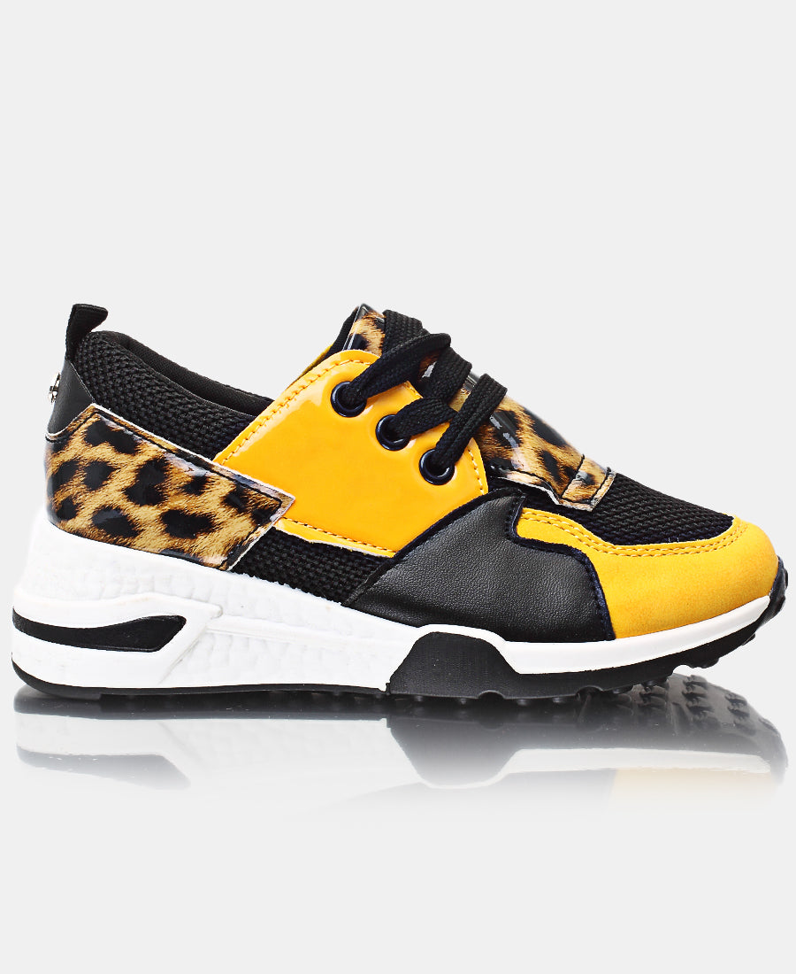 Girls Sneakers - Mustard