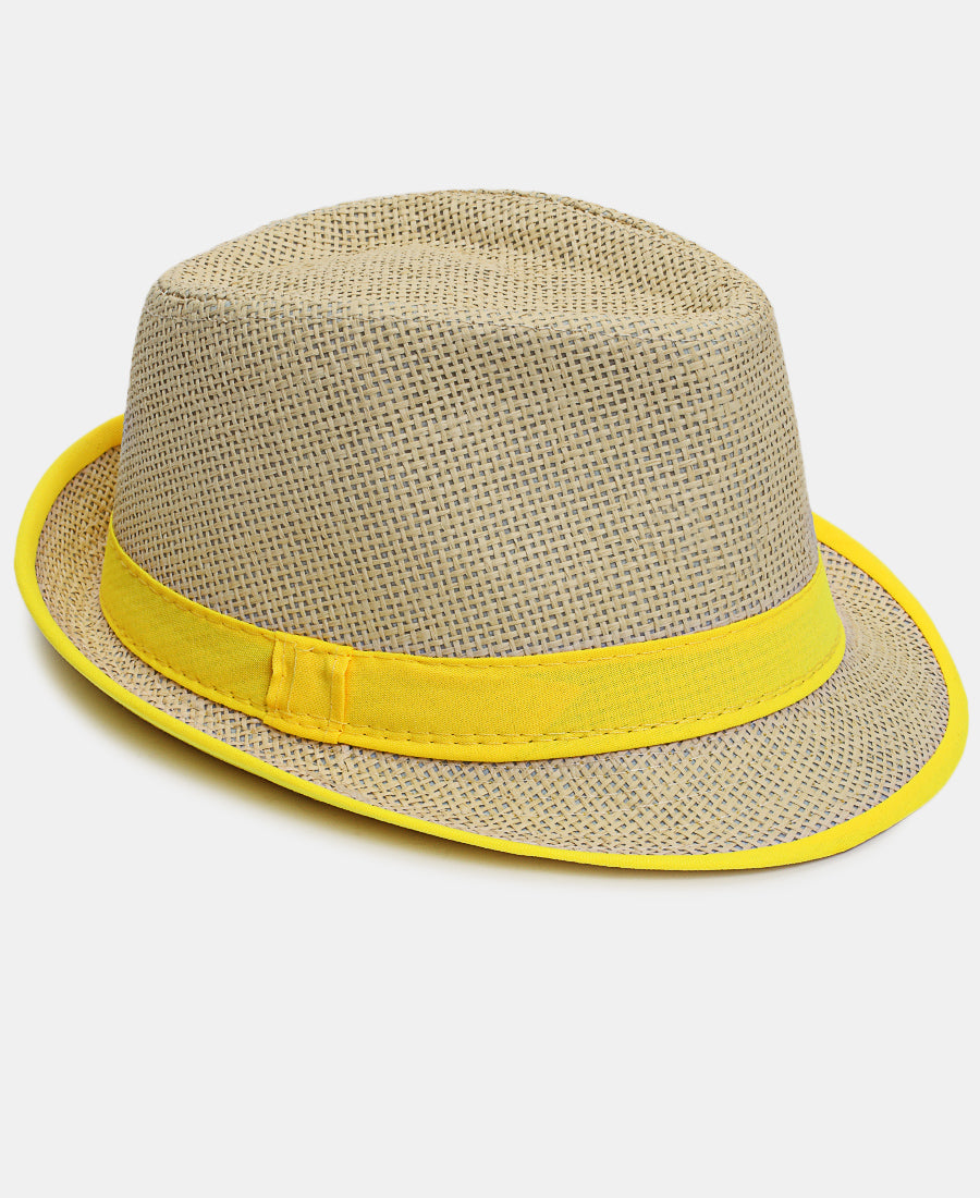 Fedora Hat - Yellow