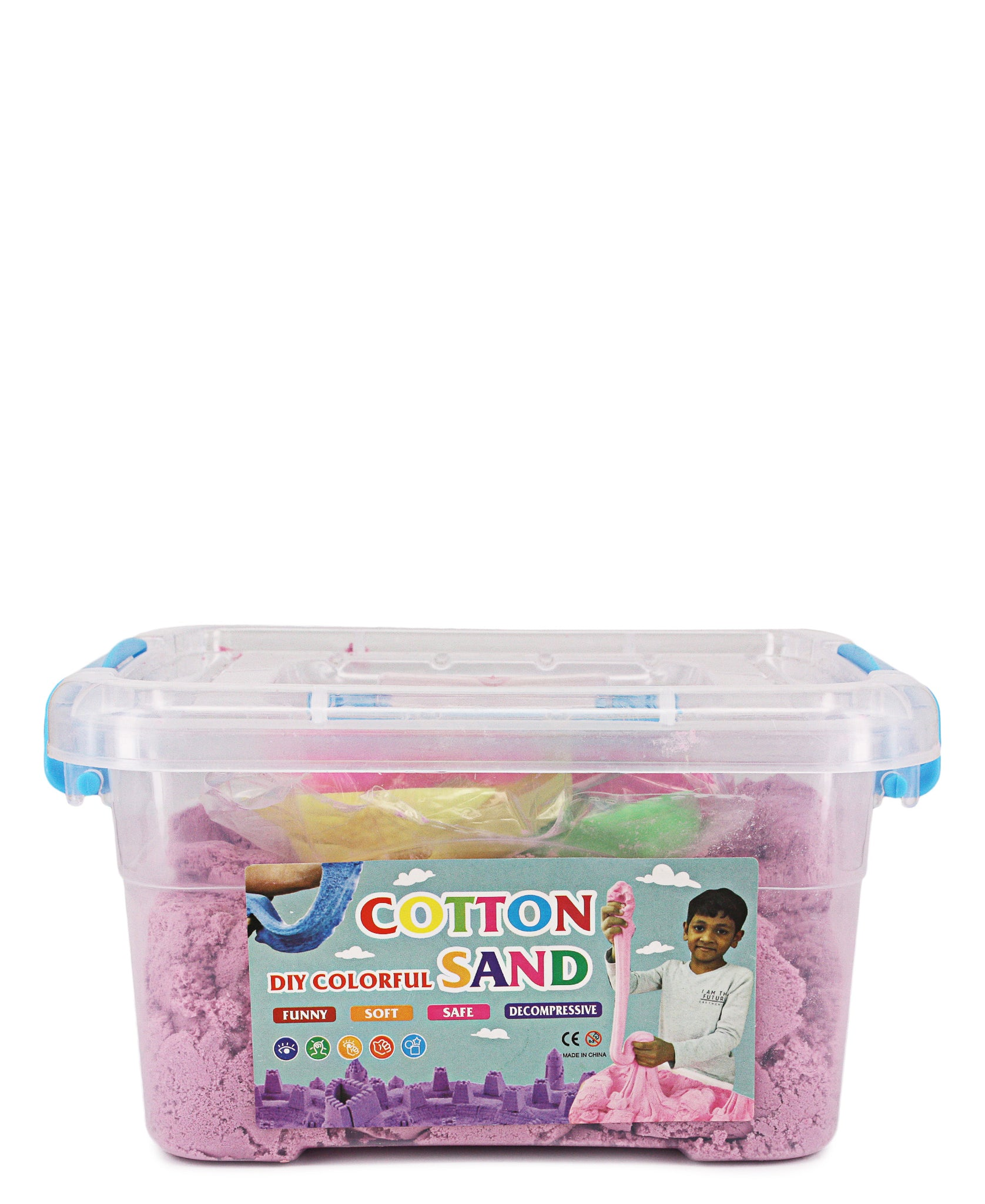 Large Cotton Sand - Pink