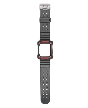 40mm Apple Watch Band With Cover - Red
