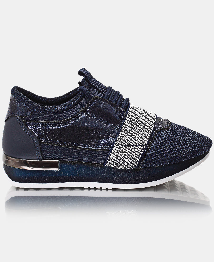 Kids Storm Sneakers - Navy