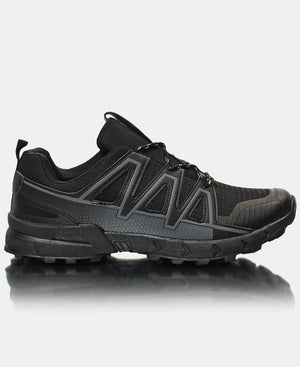 Men's Hiker Sneakers - Black