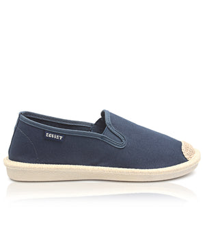 Ladies' Snowflake Espadrilles - Navy