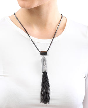 Long Chain - Gunmetal