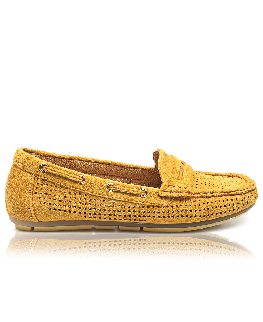 Ladies' Loafers - Mustard