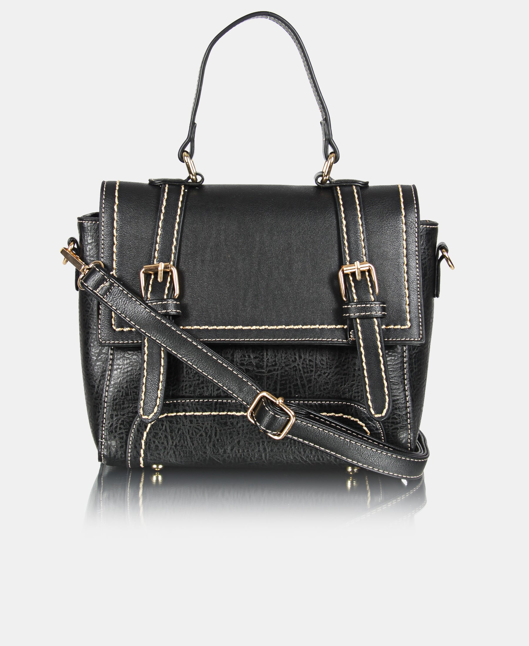 Satchel Bag - Black