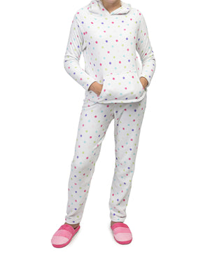 2 Piece Pyjamas - White