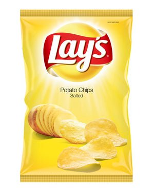 Lay's Lightly Salted 120g - Yellow