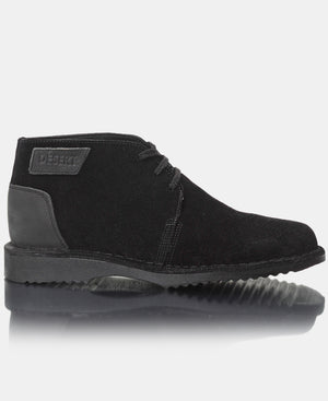 Men's Leather Boots - Black
